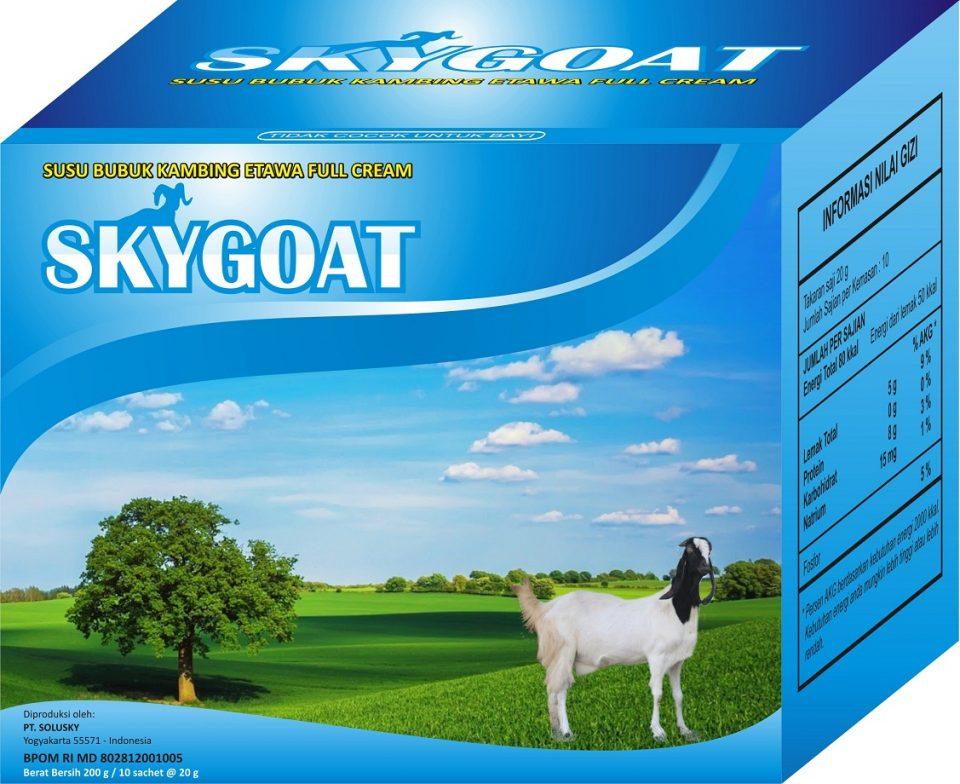 Susu Kambing Skygoat Original dari Suka Sehat