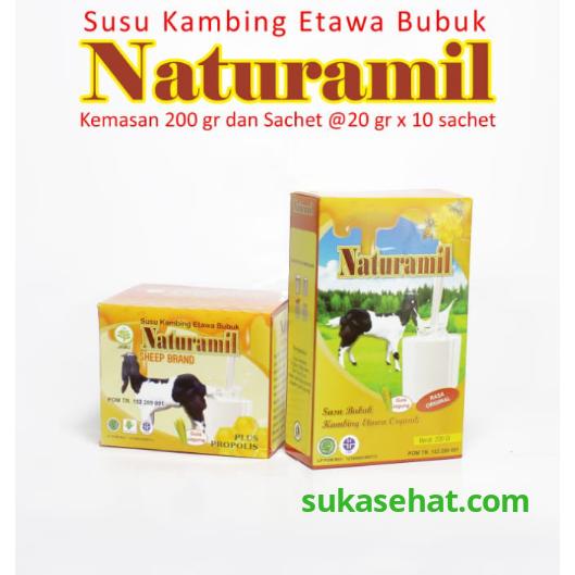 Susu Kambing Naturamil plus propolis