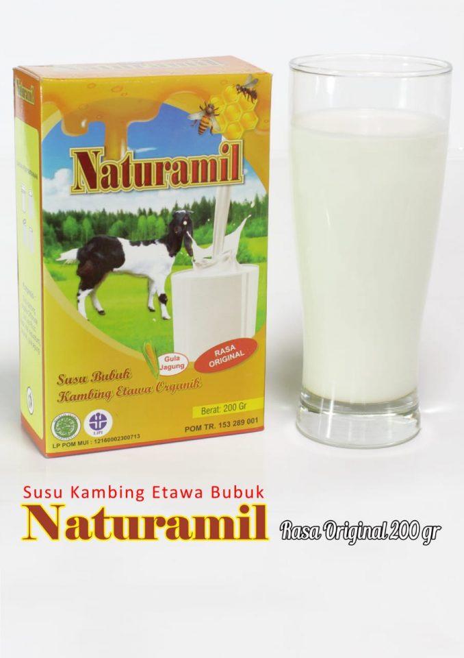 susu kambing naturamil dengan campuran propolis. Bagus untuk meningkatkan daya tahan tubuh dan anti virus dari berbagai virus penyakit