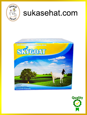 jual susu kambing skygoat original full cream - harga distributor