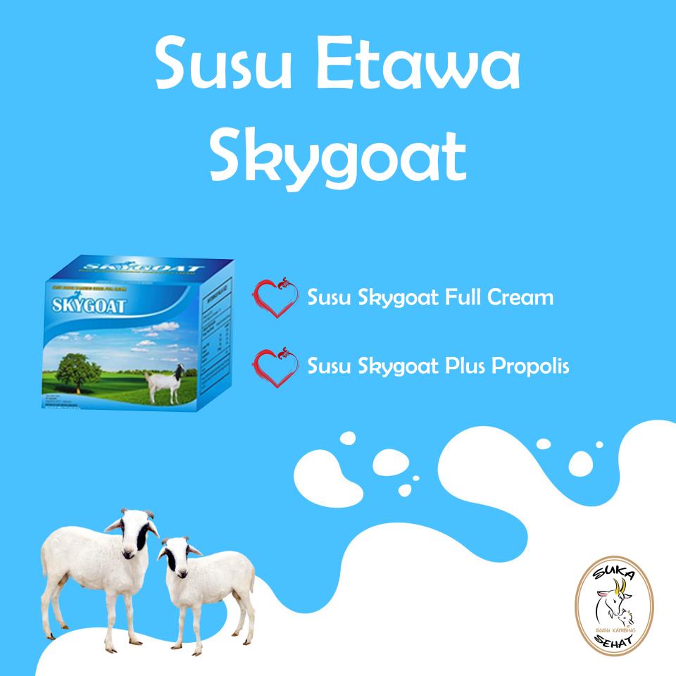 Skygoat, Susu Kambing Etawa Plus Propolis