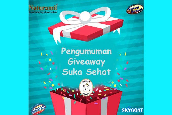 Pengumuman Pemenang Giveaway Susu Kambing Etawa dari Suka Sehat