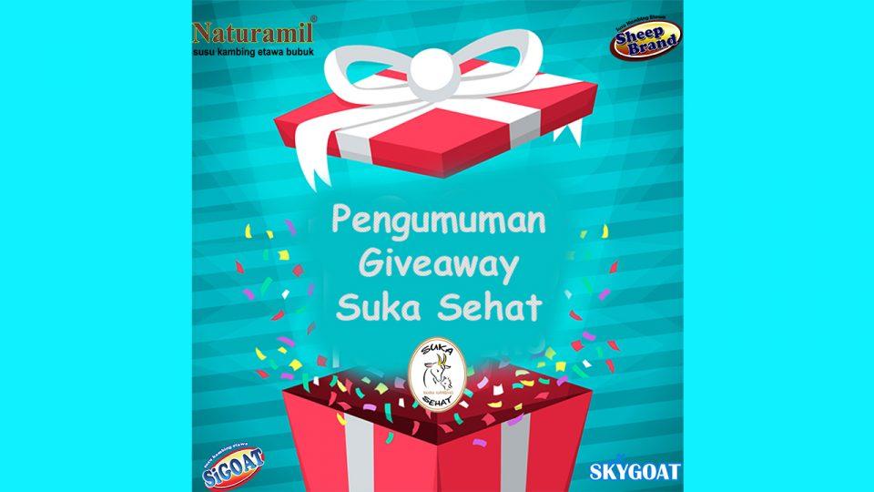 Pemenang Giveaway Susu Kambing Etawa