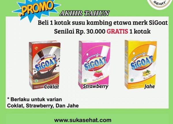Promo Akhir Tahun Susu SiGoat