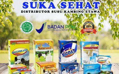 Distributor Susu Kambing Etawa Bubuk Halal dan BPOM